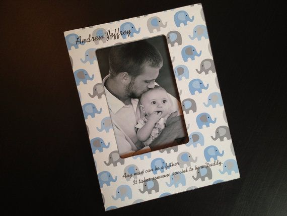 Personalized Daddy Wood Picture Frame Father Son S Day Dad Daughter Gift 4x6 Baby Boy Newborn Keepsake On Etsy 35 49