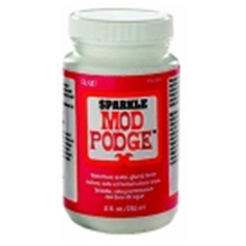 Mod Podge Fast Dry Non-Toxic Non-Flammable Tissue Glue And Glaze, As Shown