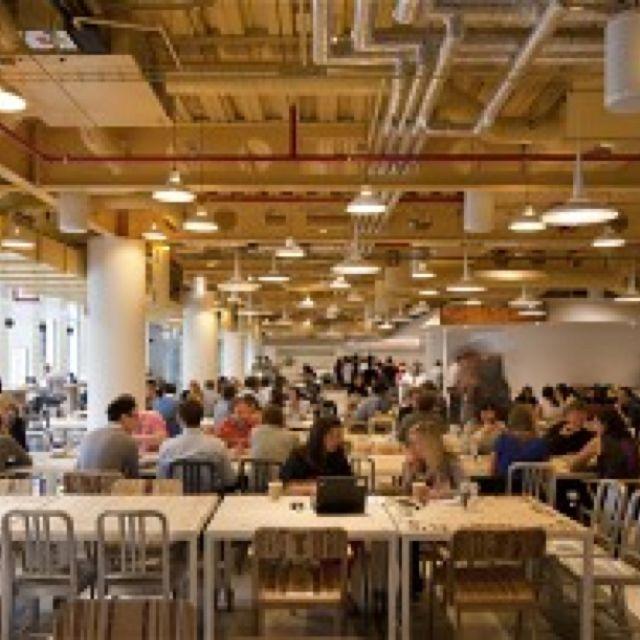 google office cafeteria. The Market Square Is A Rustic Cafeteria Area (Google\u0027s London Headquarters) Google Office R