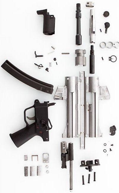 MP5 Parts Kit at HKParts net | H&K Love | Guns, Battle rifle