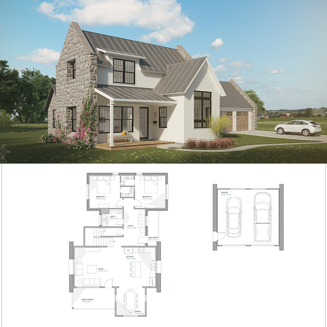 Brune The Brune farmhouse house plan