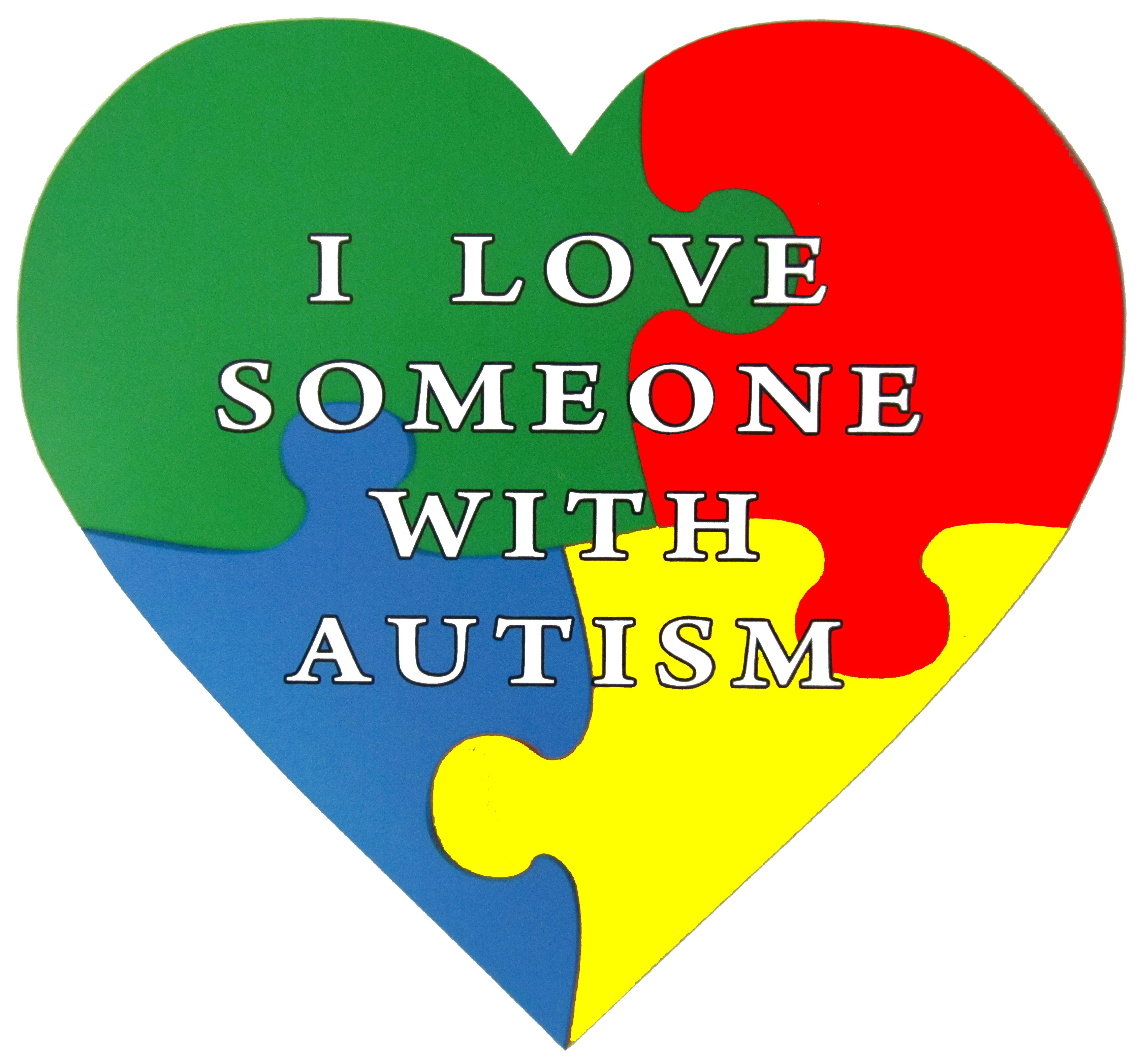 Autism Symbol Charm Says Autism Awareness With An Puzzle Piece