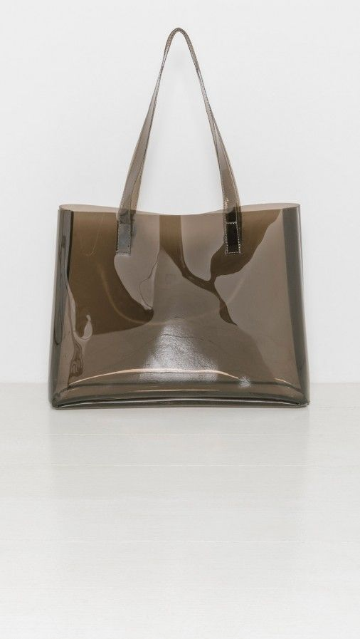 Clyde Smoke Mirage Tote In Brown Bags Tote Bag Design Tote