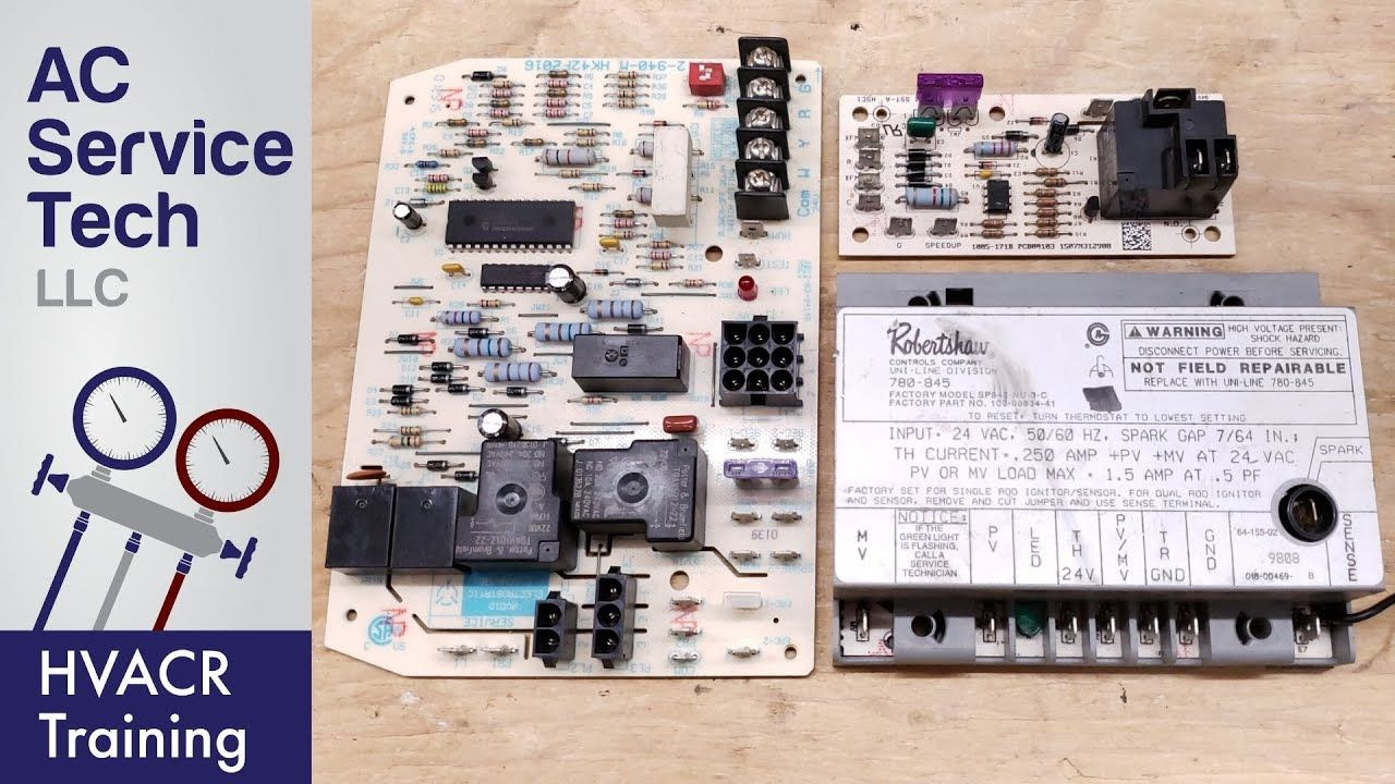 Hvac Control Board Operation For Troubleshooting Youtube In 2020 With Images Hvac Control Hvac Hvac Training