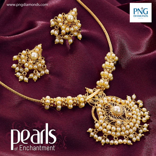 Pearls Of Enchantment 4 Pearl Necklace Designs Pearl Jewelry Design Gold Jewelry Fashion