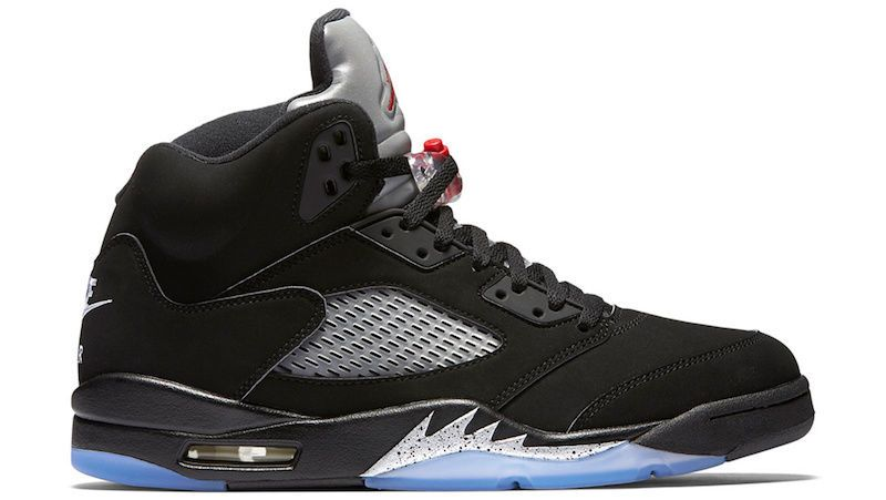 Men's Nike Air Jordan 5 Retro OG Black Metallic Silver Size 16 #eBay #Jordan #Nike #Retweet #AirJordan5