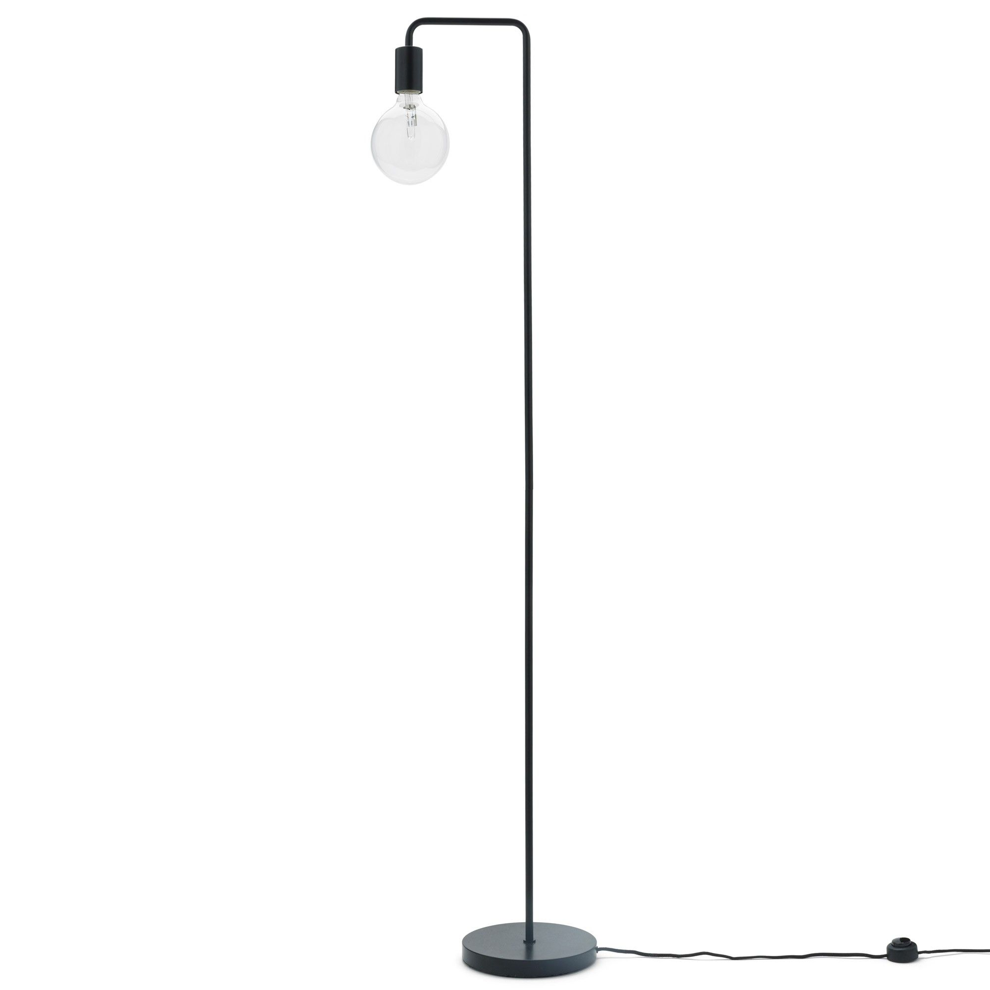 Lampen Dänisches Design Stehlampe Vida Schwarz 10x153 Cm In 2019 Furniture