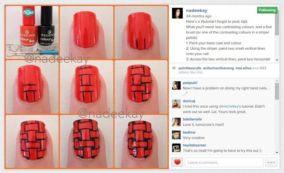 13 Days of January Nail Art Challenge: Follow a Tutorial