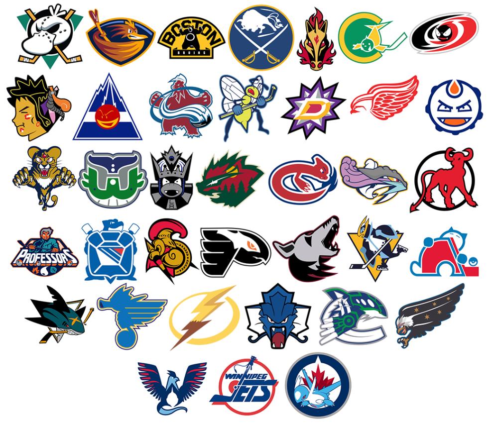 Nhl Logos In 2020 Nhl Logos Pokemon Logo Pokemon