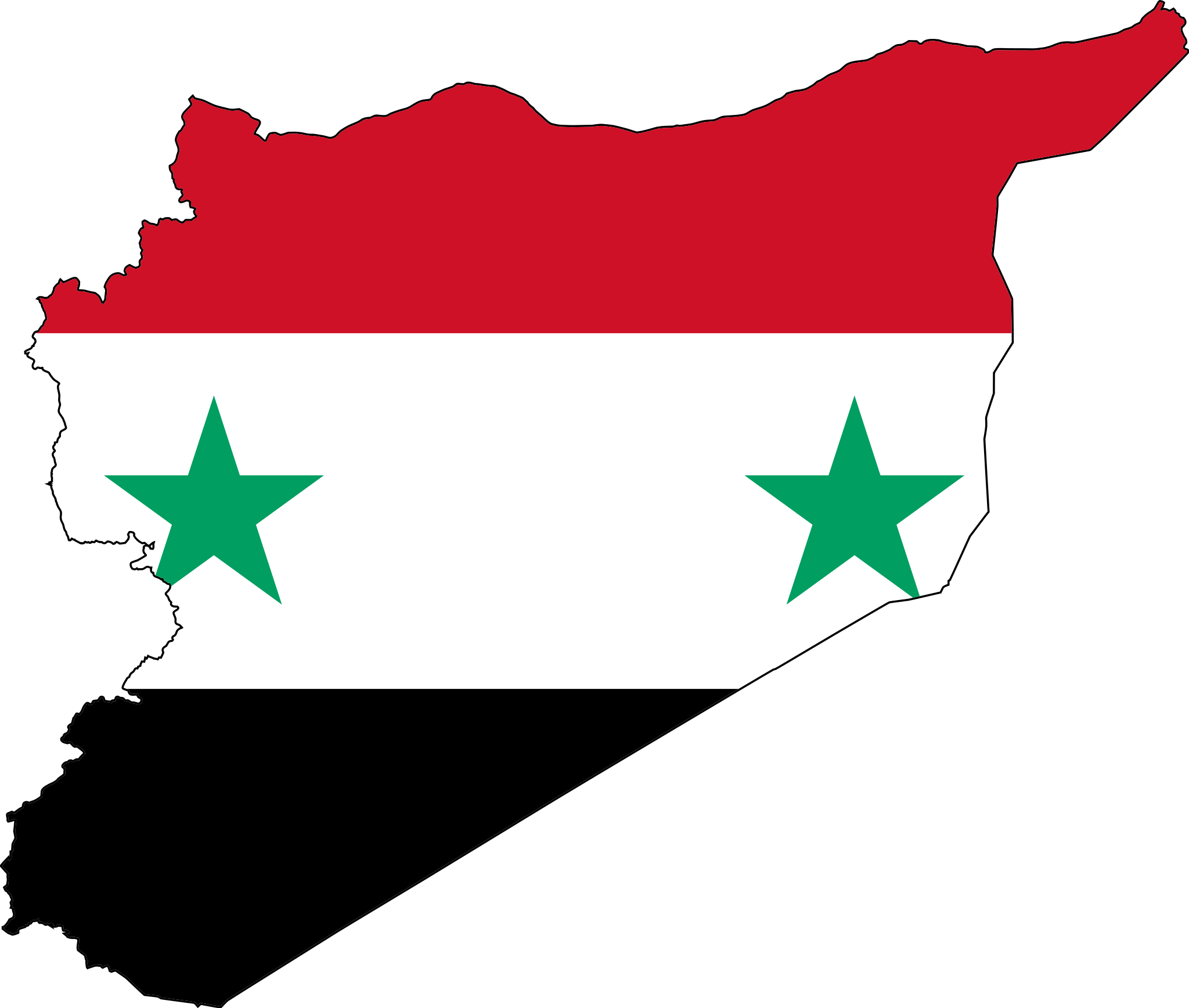 Perfect For My Outline Flag Syria Country Syria Flag