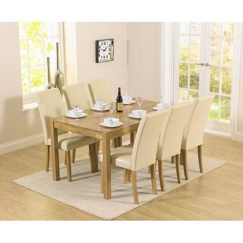Pria Cambridge Dining Set With 6 Chairs Home Etc Colour Chair
