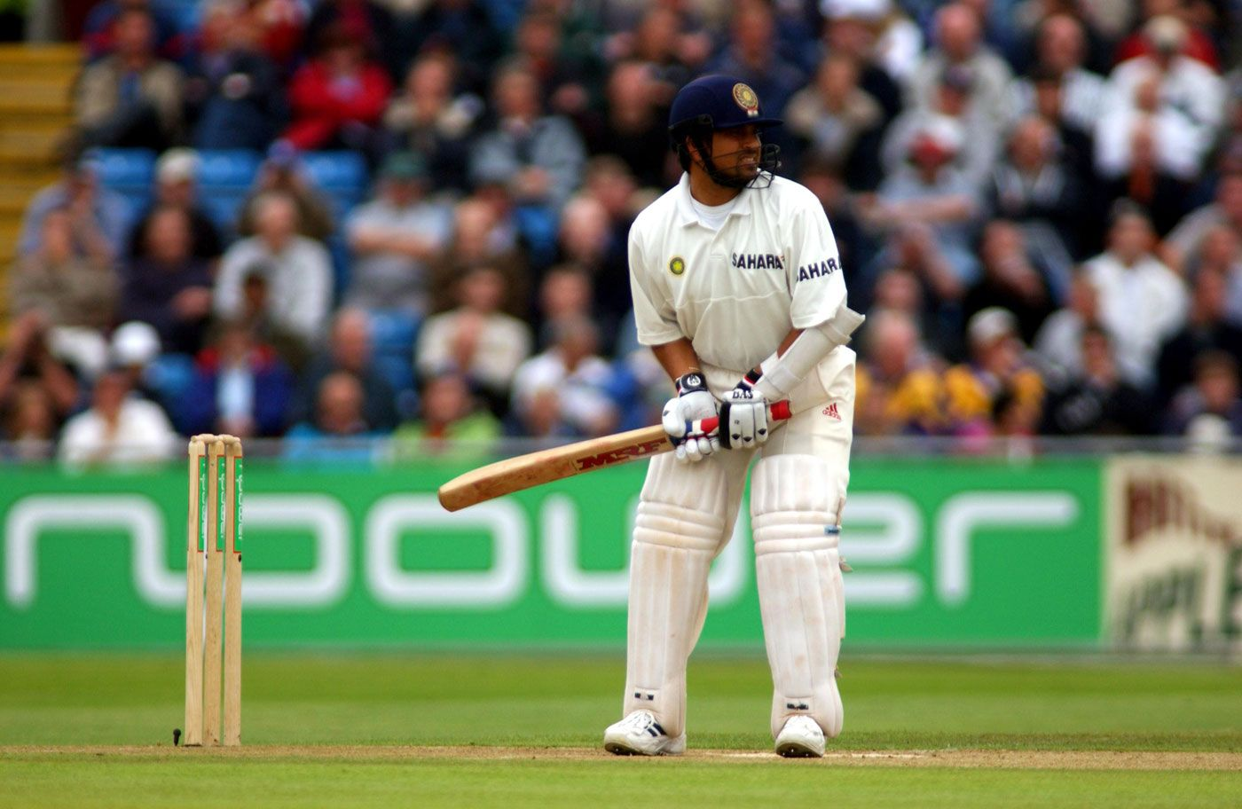 Sachin Tendulkar had the ideal natural stance: poised and ready to ...