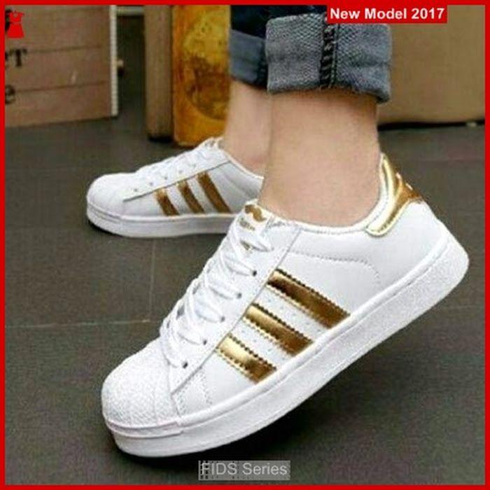 Fids105 Sepatu Wanita Sepatu Kets Hitam Polos Bmg Adidas Sneakers Adidas Fashion