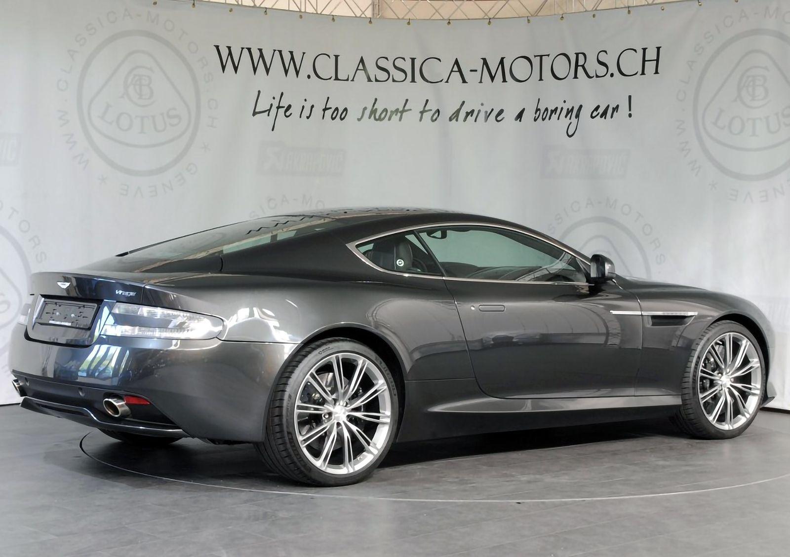 2012 Aston Martin Virage Carros