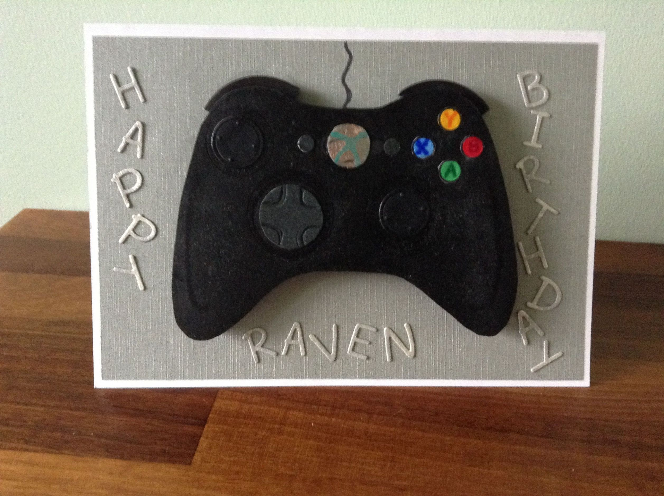 13 best xbox controller birthday card facebooklucas bear