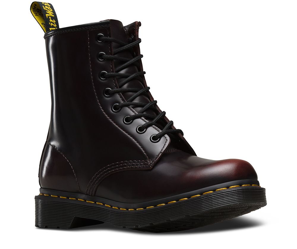 DR MARTENS 1460 WOMEN'S ARCADIA LEATHER