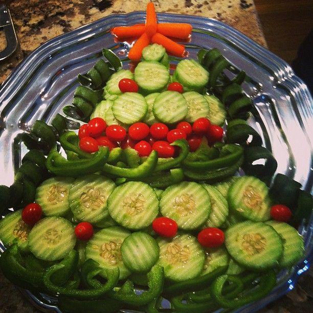 Veggie Christmas Tree Recipe: Christmas Tree Veggie Tray