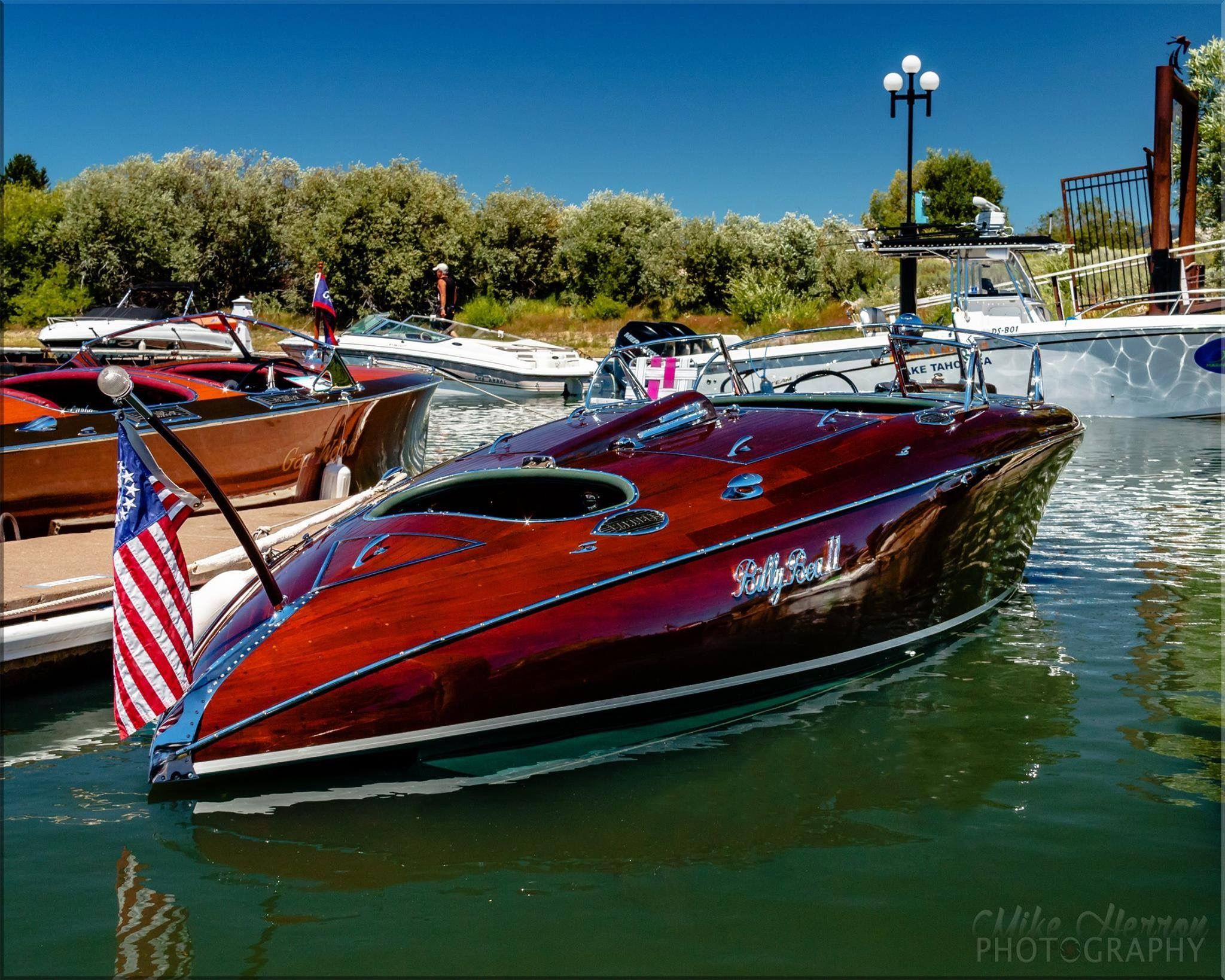 Our Billie Bea Ii Built By Earl Barnes With Images Mahogany Boat