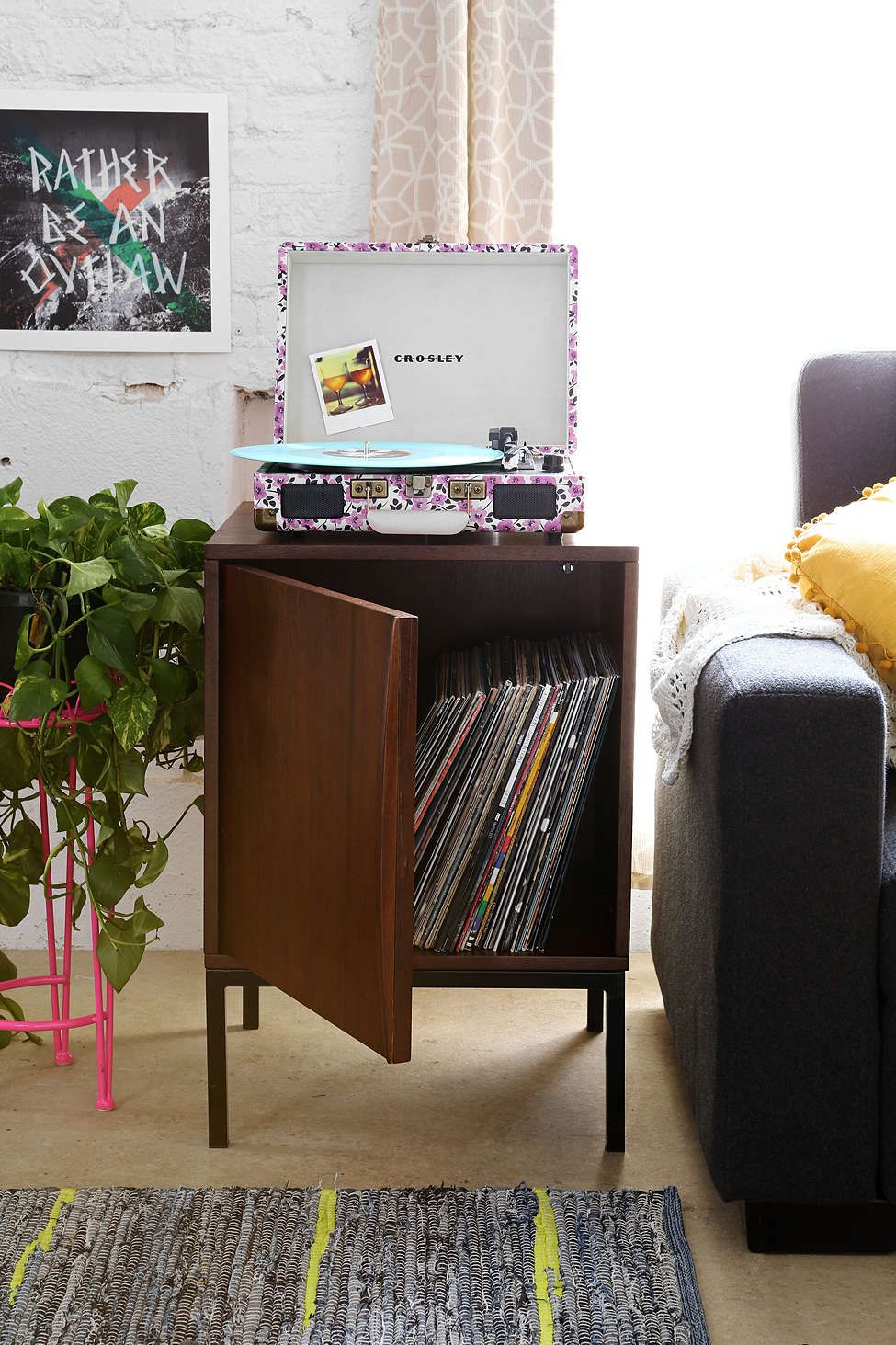 $198 Urban Outfitters Assembly Home Midcentury Table