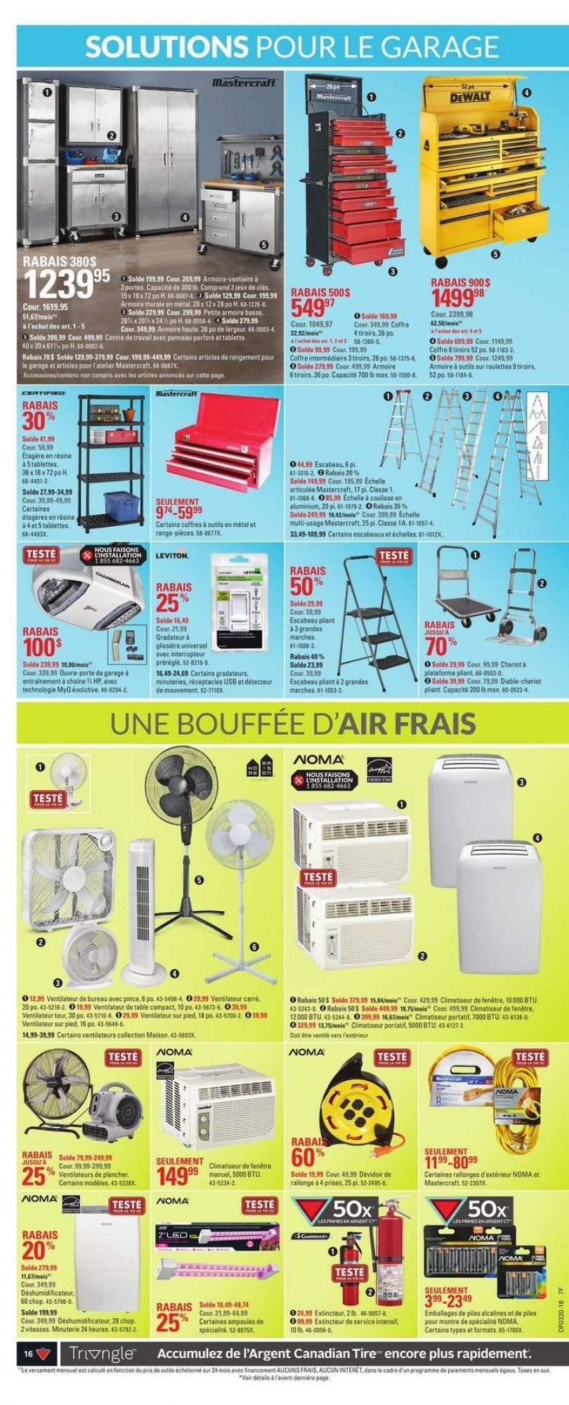 Flyer Canadian Tire (QC) Canada - from Thursday May 10, 2018 to