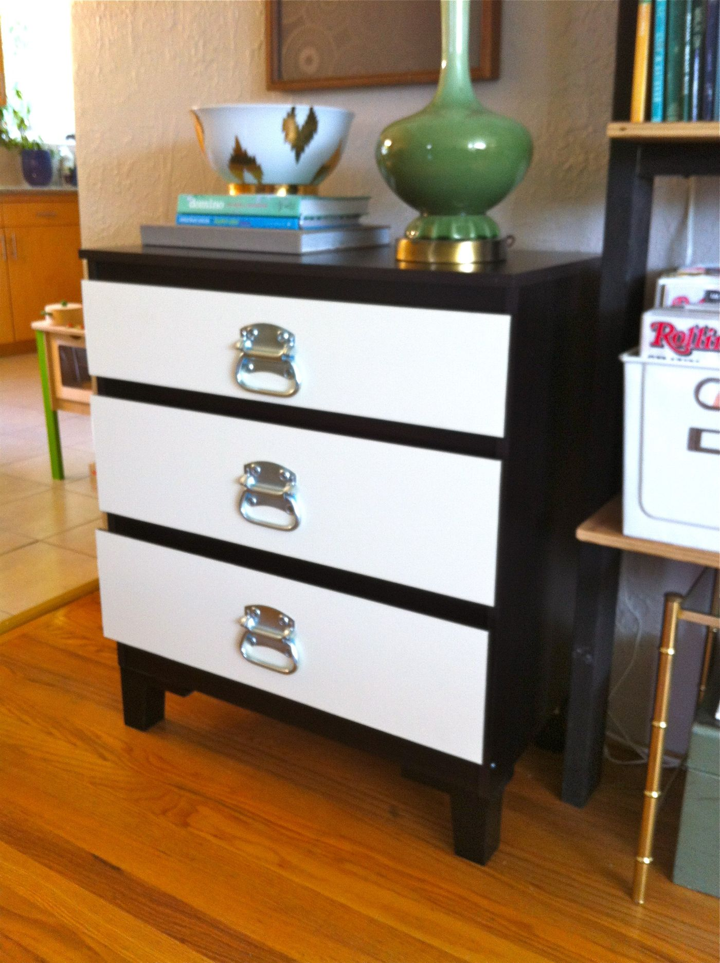 ikea hack from malm dresser i would love to add the legs and hardware to his dresser and. Black Bedroom Furniture Sets. Home Design Ideas