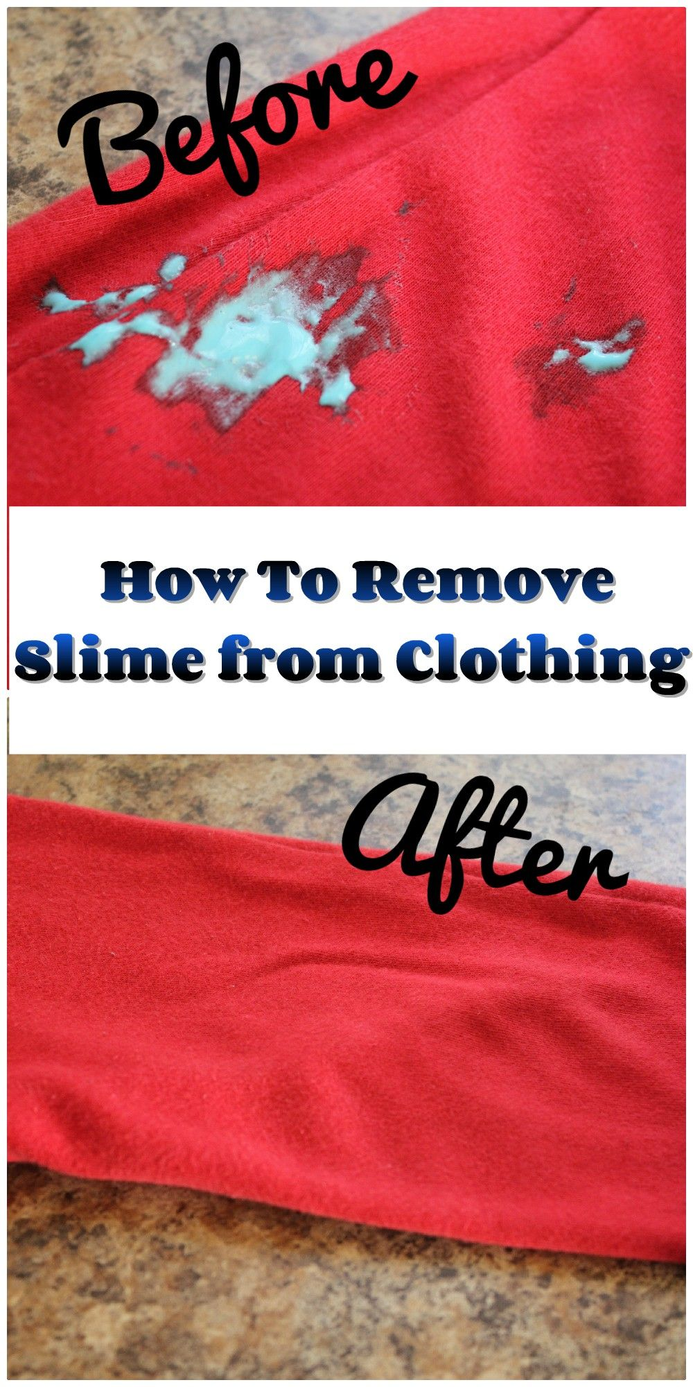 How To Remove Slime From Clothes The Fast And Easy Way Slime