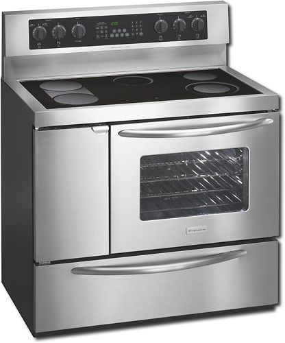 Electric Range Smooth Top Cooking Surface Summit On In: Frigidaire PLEF489GC Professional Series 40-Inch Free