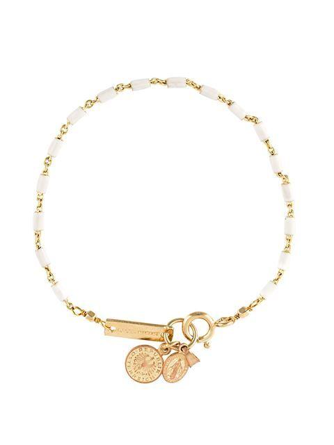 Verbazingwekkend ISABEL MARANT 'Casablanca' medallion bracelet. #isabelmarant #bracelet WB-48