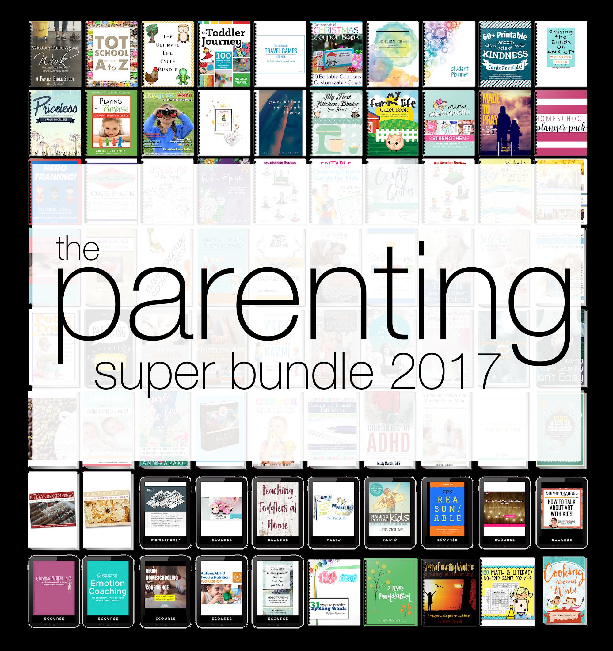 Ultimate Bundles Parenting Super Bundle Review