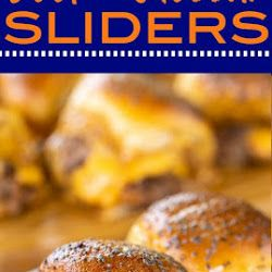 BEEF & CHEDDAR SLIDERS RECIPES