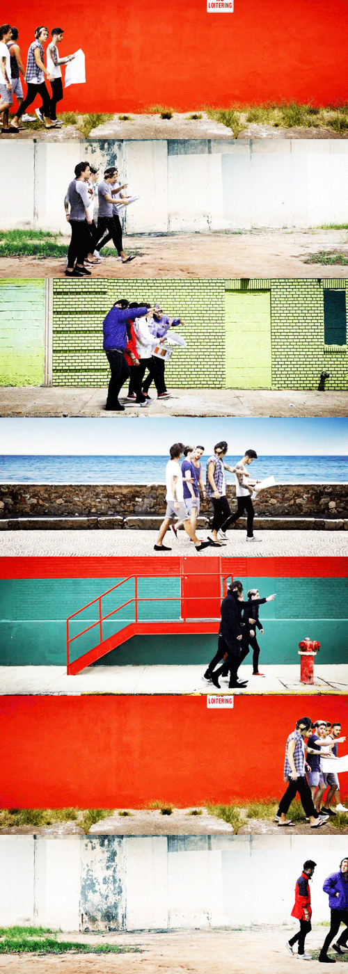 I picture them getting lost for real, and Harry is pretending to be 'Go Diego Go' or something...