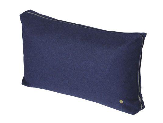 Wool cushion mørkeblå fra ferm LIVING – Køb online på Magasin.dk - Magasin Onlineshop - Køb dine varer og gaver online