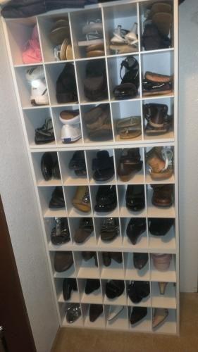 Mobile Closet Shoe Storage Shoe Organization Closet Closetmaid