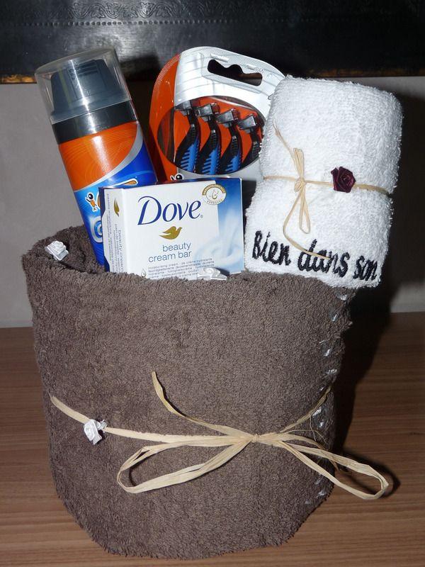 g teau de serviette homme serviettes de bain creation lizalou fait maison no l id es. Black Bedroom Furniture Sets. Home Design Ideas