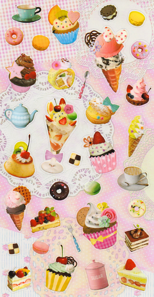 Theme Sticker Sets — Omiyage - cute, clever & crafty goods!