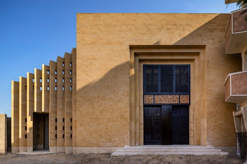 Designing a contemporary mosque an Egyptian case study in