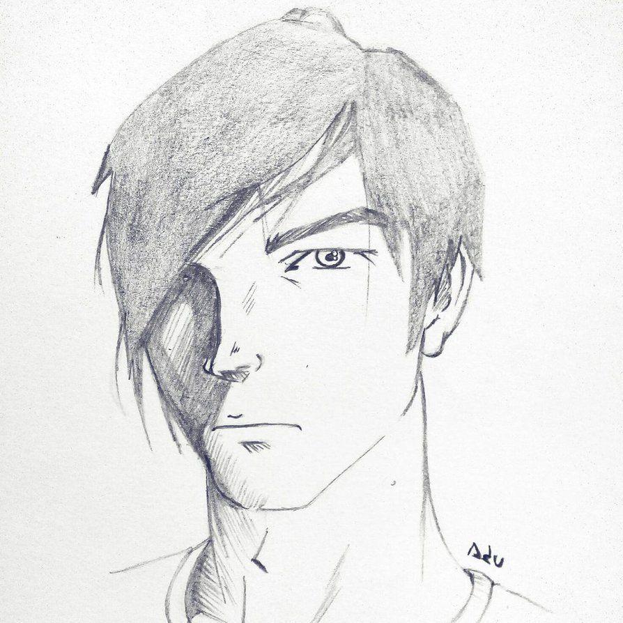 dibujando un chico emo sketches