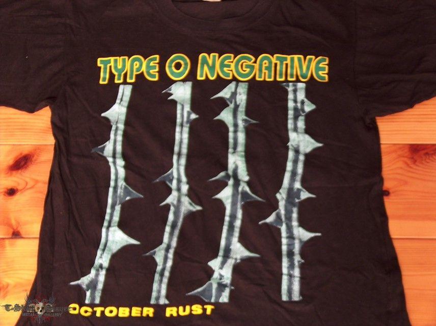 TShirt or Longsleeve - TYPE O NEGATIVE - Israel Bootleg Shirt October Rust