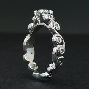 vintage looking wedding rings