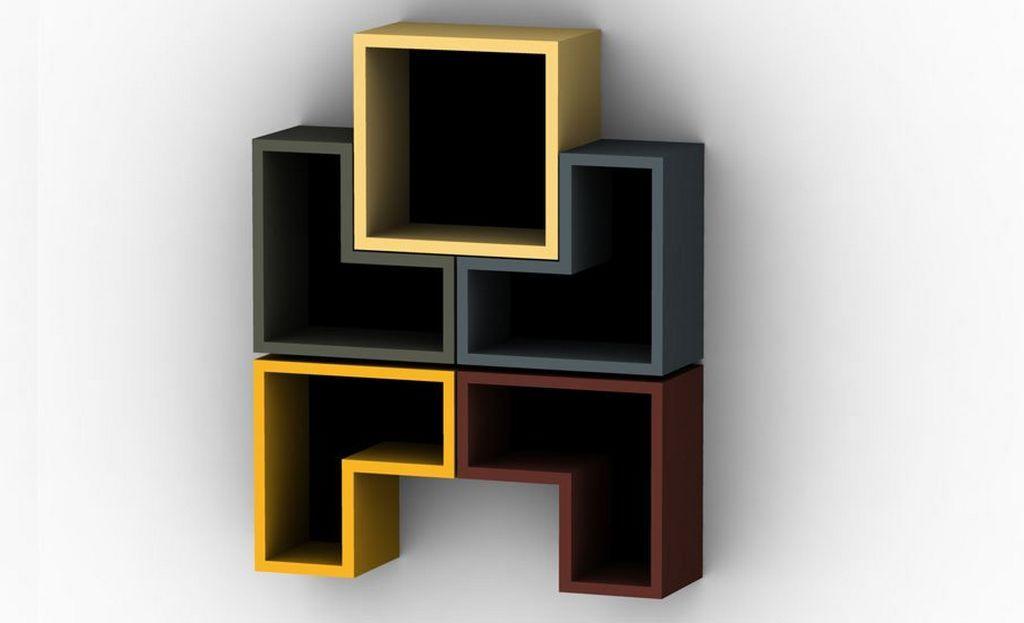 Modern Wall Bookshelves Interesting wall mounted modular