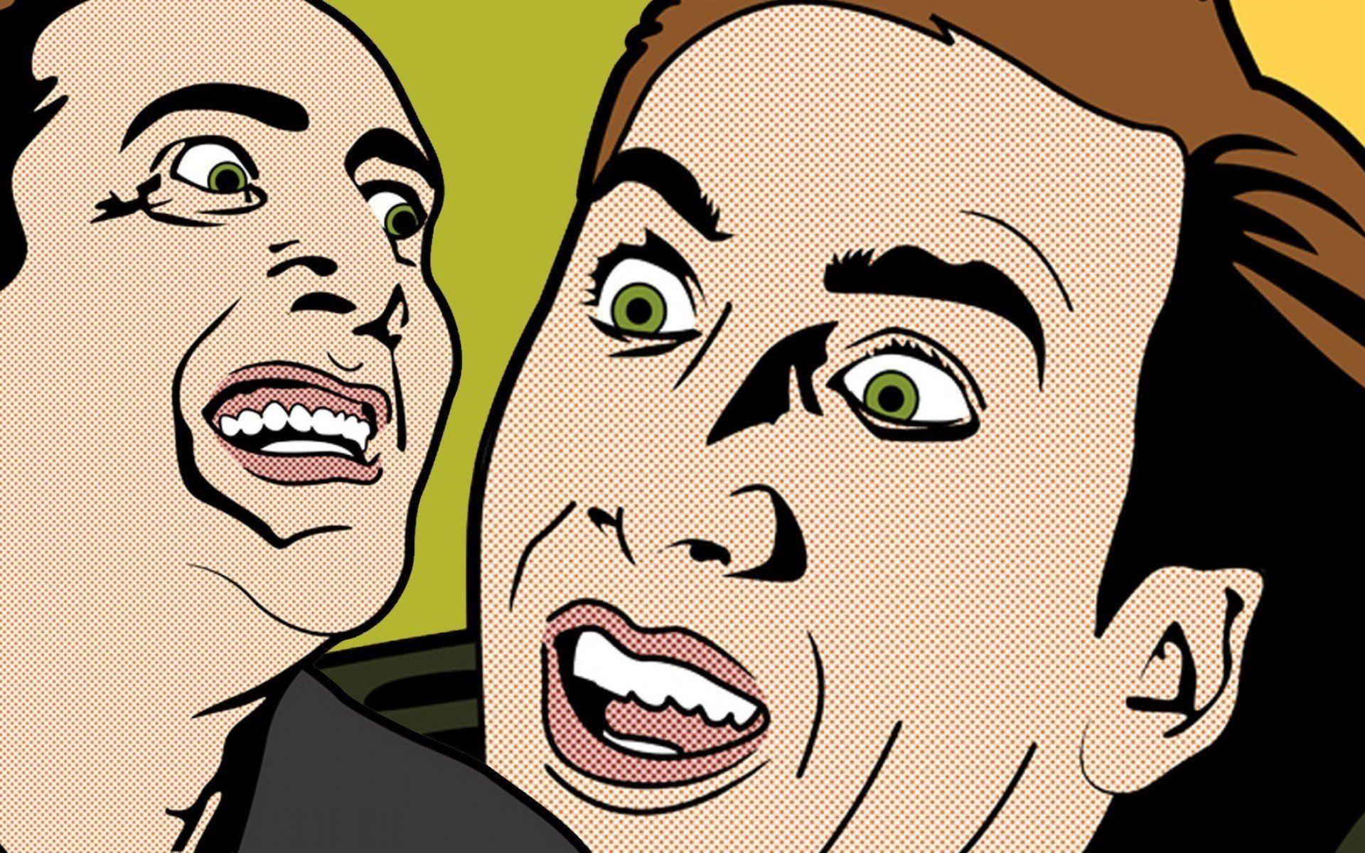 Nicolas Cage Pop Art Nicolas Cage Art Wallpaper