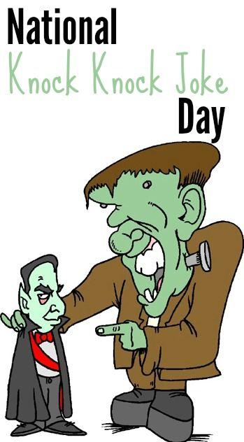 National Knock Knock Joke Day Knock Knock Jokes Jokes Halloween Jokes