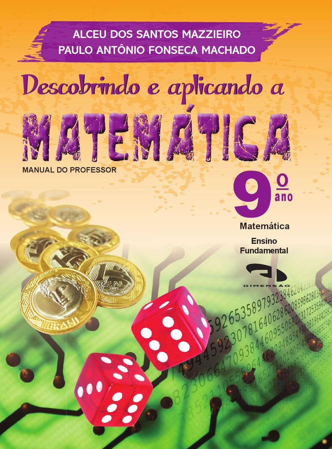 Pnld2014 Descobrindo Aplicando Matematica 9ano Livros De