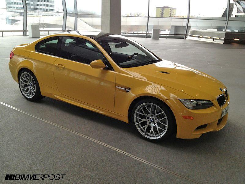 Individual Color Speed Yellow E92 M3 Zcp Bmw M3 Forum E90 E92