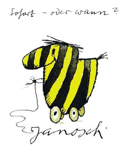 Poster TIGERENTE SOFORT von Janosch 48x58 - Tigerente Fun