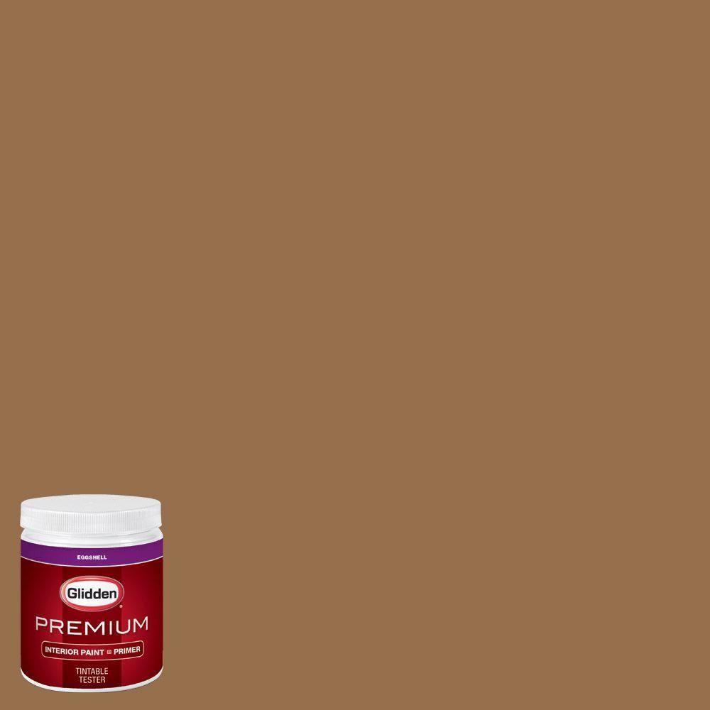 Glidden Premium 8 oz. #HDGO65U Goldstone Eggshell Interior Paint with Primer Tester & Glidden Premium 8 oz. #HDGO65U Goldstone Eggshell Interior Paint ...