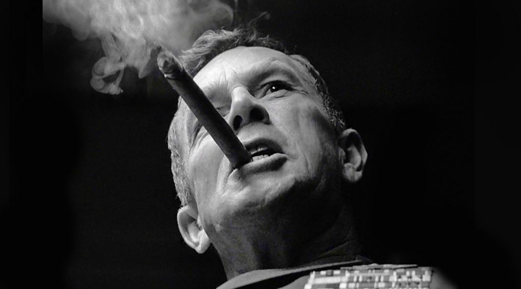 "Sterling Hayden as General Jack Ripper - in ""Dr. Strangelove"". 1964 