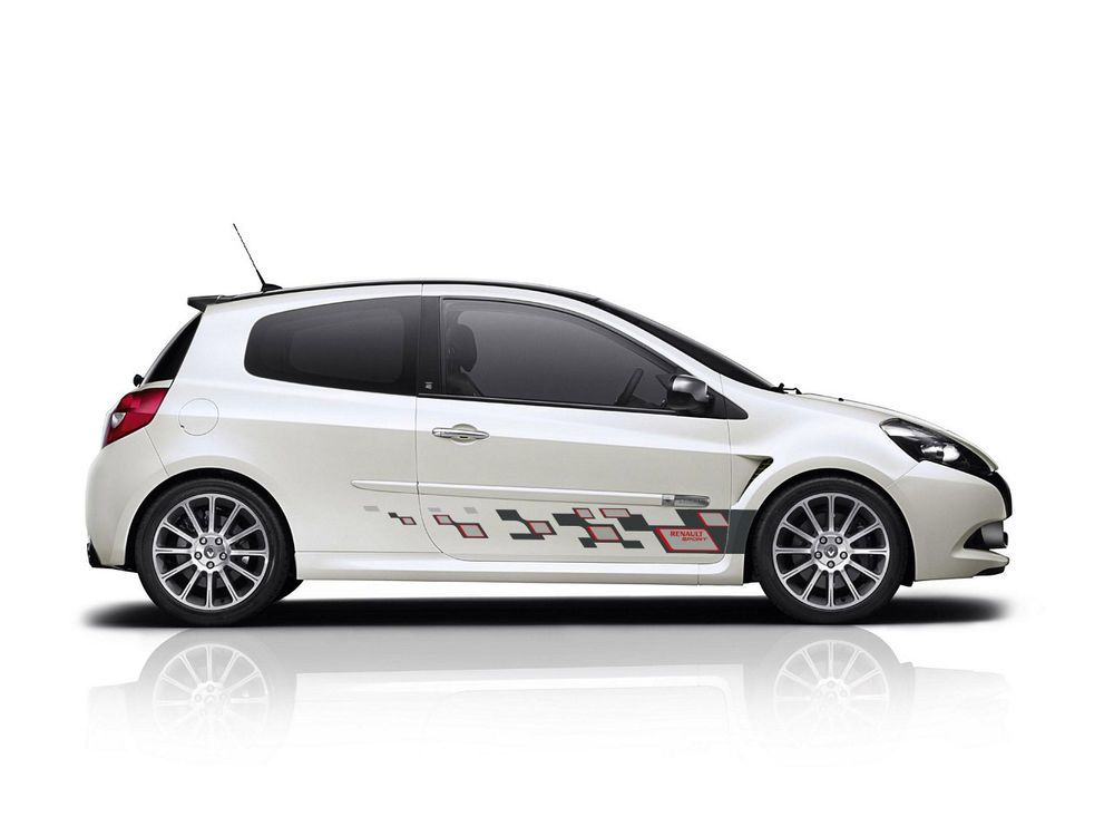 Details About Renault Clio Mk3 Side Stripe Graphics Decal