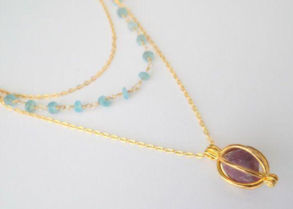 He encontrado este interesante anuncio de Etsy en https://www.etsy.com/es/listing/231303123/layered-necklace-with-fluorite-pendant