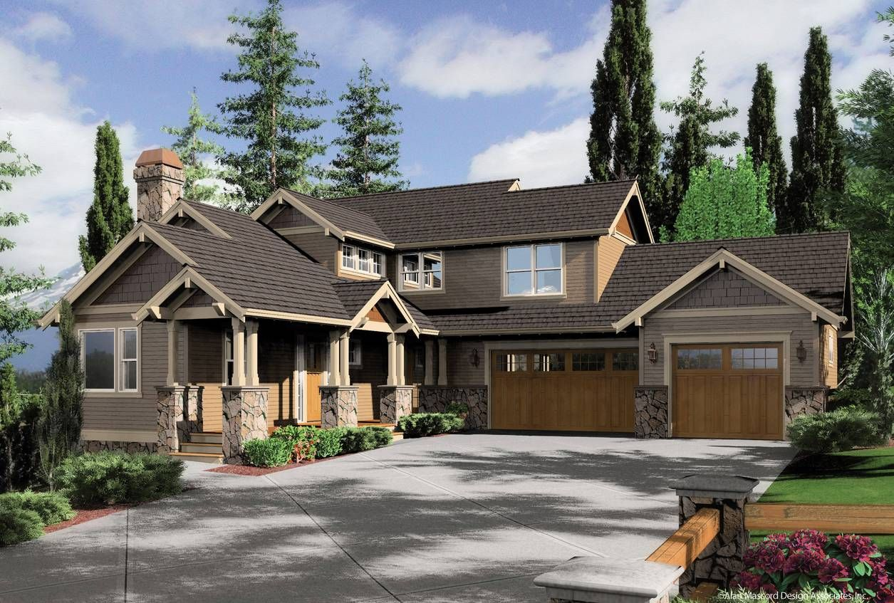 house plans for the clearfield design 2374 alan mascord design assoc - Sw Small House Plans